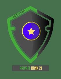 CSGO prime private rank 21